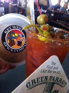 Green Parrot Bloody Mary