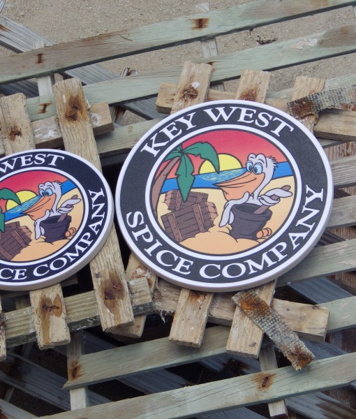 Key West Spice Company - Logo - B